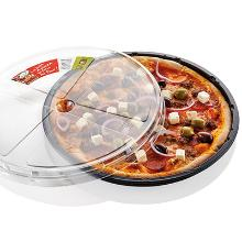 Ovnbakke C0321-1A rund sort CPET 1685ml Ø320x25mm pizza product photo