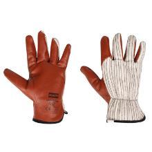 Handske Worknit Slip on stile syet m/nitril i inderhånd product photo