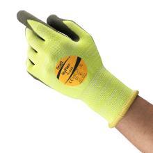 Handske Puretough P3000/ Hyflex® 11-423 strikket gul syntetisk 1/2 dyppet product photo