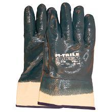 Handske Keep Safe blå nitril heldyp m/manchet product photo