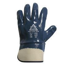 Handske Keep Safe Heavy Nitrile blå heldyp m/manchet product photo