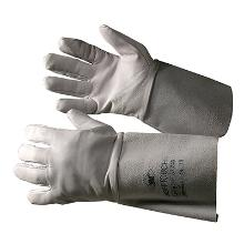 Handske Soft Touch svejse type B grå fåreskind 15cm skaft product photo