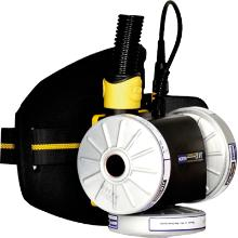 Åndedrætsværn Compact Air sampak m/ bajonetfatning u/hoveddel product photo