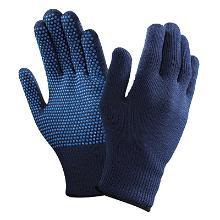 Handske ActivArmr® 78-203 isolerende blå strik med PVC dot product photo