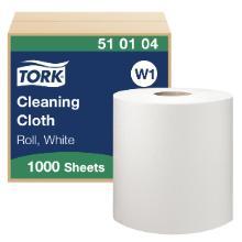 Aftørringsrulle Tork W1 hvid 380m 428x380mm product photo