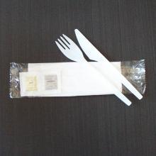 Bestikpose m/kniv gaffel og serviet product photo