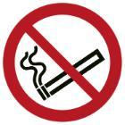 Skilt F155 Rygning forbudt Ø100 plast product photo