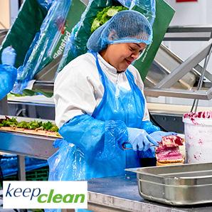 Keep Clean - engangsbeklædning til fødevareindustrien