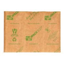 Ice pack Eco bedrukt met perforatie 28x40 cm bruin 2x3 cellen Productfoto