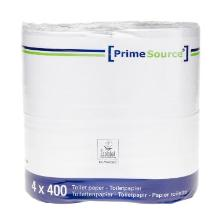 PrimeSource toiletpapier 2-laags 400 vel wit Productfoto