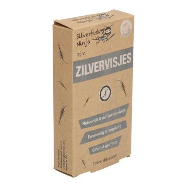 Silverfish Ninja zilvervisjes display mini 2-pack Productfoto