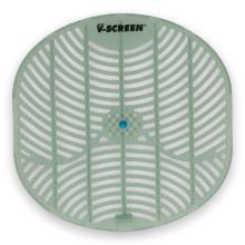 Urinoir matje 178x178 mm V-Screen blauw Cool Mint transparant/lichtgrijs Productfoto