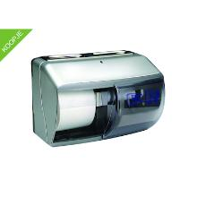 PrimeSource dispenser zilver t.b.v. toiletpapier 2-rol Productfoto