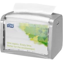 Tork Xpressnap® servetdispenser Tabletop N4 15.5x20.1x15 cm lichtgrijs Productfoto