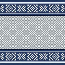 Servet celstof 33x33cm 3-laags Winter Feeling blue Productfoto