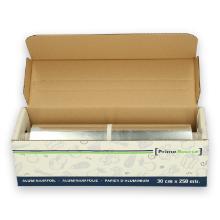 PrimeSource aluminiumfolie cutterbox 30 cm x 250m 12 my Productfoto