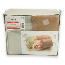 Papieren vensterzak Cleverbag PET M 18x13 cm Productfoto