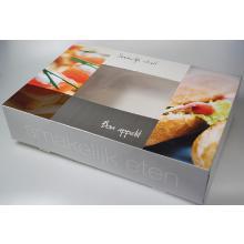 Cateringdoos smakelijk eten 55.5x37.5x8 cm Productfoto