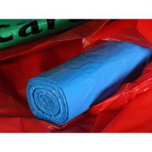 Afvalzak LDPE 58x100cm t45 blauw 20 per rol Productfoto