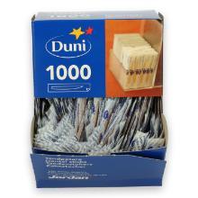 Duni Jordan houten tandenstoker 50 mm in dispenserdoos (1000 stuks) Productfoto