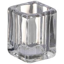 Bolsius kaarshouder Square 76x55 mm transparant voor theelicht op Clear Cup Plus Productfoto
