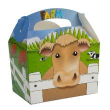 Funbox farm 152x100x102 mm with handle recycleble Productfoto