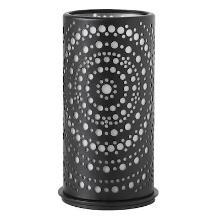 Kaarsenhouder Billy metaal zwart 140x75 mm Productfoto