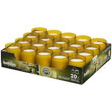 Bolsius ReLight refill kaars geel 24 branduren Productfoto