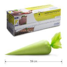 Spuitzak koud 59x28cm groen 100/rol Productfoto