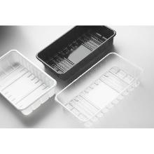 Plastic maaltijdbak Apet 23x13,5x4,5 cm zwart Productfoto