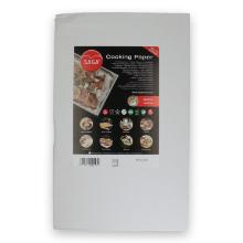 Siliconen bakpapier 53x32.5 cm wit (500 stuks) Productfoto