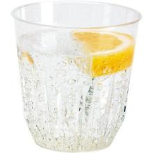 Plastic tumbler glas diamond 250cc Productfoto