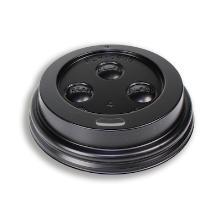Deksel travellid PS tbv beker 6 oz ø 78 mm zwart Productfoto