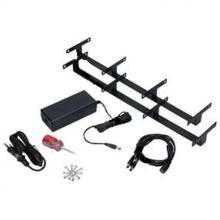 Duni LED oplaadstation 4 stuks zwart Productfoto