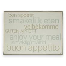 Tork placemat 30x40 cm met Eet Smakelijk tekst Productfoto