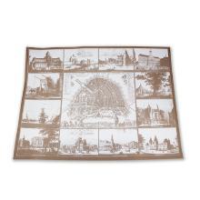 Placemats amsterdam bruin 30x40 1-kleur Productfoto
