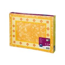 Tork placemats palazzo orange 31x42cm Productfoto
