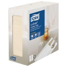 Tork Linstyle® bestekpochette creme Productfoto