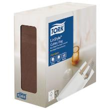 Tork Linstyle® bestekpochette cacao Productfoto
