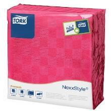 Tork nexxstyle servet 39x39cm Fuchsia Productfoto