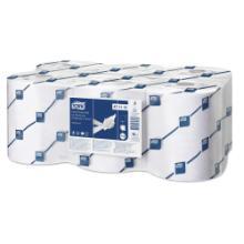 Tork Advanced handdoekrol papier 143 m 2-laags wit tbv electr. dispenser H12 Productfoto
