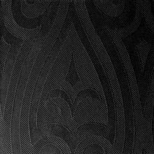 Servet Elegance Lily 48x48 zwart Productfoto