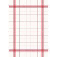 Servet towel premium 38x54cm red Productfoto