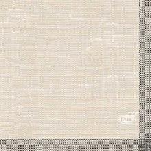 Dunisoft servet 20x20 cm weave black Productfoto