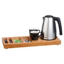 Bentley Xanthic tray coffee & tea kersenhout Productfoto