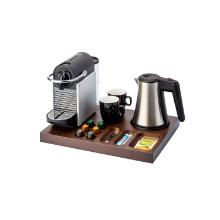 """Bentley Xanthic tray """"Coffee"""" donker mahonie hout Productfoto"""