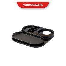 Bentley Ruby welcome tray 34x34 cm zwart ACTIE Productfoto