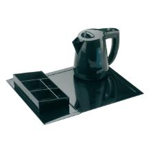 Zen Line koffie & thee sachethouder zwart Productfoto