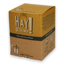 Hay! Straws tarwe drinkrietje Cocktail 12.7 cm ø 3-5.5 mm bruin Productfoto