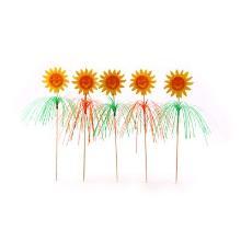 IJsfiguur palmboom met zon 23 cm Productfoto